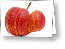 Apple Greeting Card