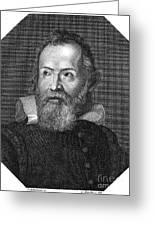 Galileo Galilei (1564-1642) Greeting Card