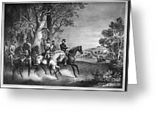 Lees Surrender, 1865 Greeting Card