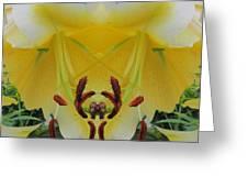 Lily Fantasy Greeting Card