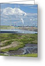 Oil Industry Pollution Greeting Card