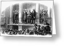 Washington: Inauguration Greeting Card