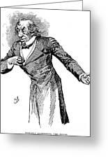 Benjamin Disraeli (1804-1881) Greeting Card