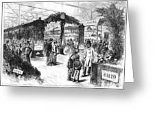 Centennial Fair, 1876 Greeting Card