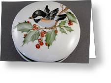 1646 Chickadee Box Greeting Card
