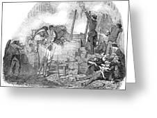 France: Revolution Of 1848 Greeting Card