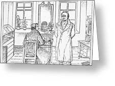 Johann Goethe (1749-1832) Greeting Card