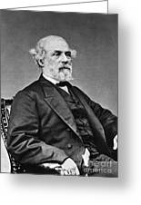 Robert E. Lee (1807-1870) Greeting Card