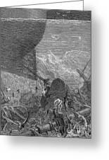 Coleridge: Ancient Mariner Greeting Card