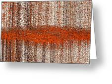 Color Rust Greeting Card