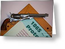 1865 Gun Greeting Card