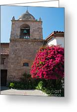 Gardens In Carmel Monastery Greeting Card