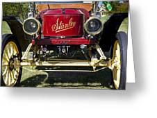 1910 Stanley Model 61 Greeting Card
