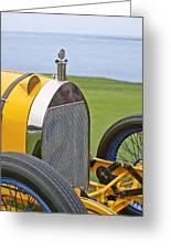1914 Mercer Model 45 Race Car Grille Greeting Card