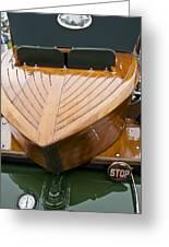 1914 Rolls-royce Silver Ghost Shapiro-schebera Skiff Rear End Greeting Card