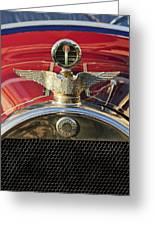 1915 Brewster-knight Model 41 Landaulet Hood Ornament 2 Greeting Card