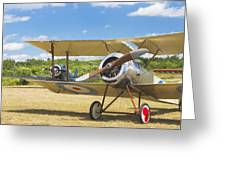 1916 Sopwith Pup Biplane On Airfield Canvas Photo Poster Print Greeting Card