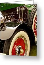 1919 Mcfarlan Type 125 Touring Engine Greeting Card