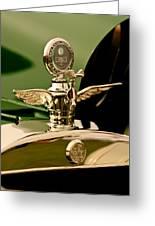 1919 Mcfarlan Type 125 Touring Motometer - Hood Ornament Greeting Card
