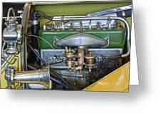 1919 Stutz Bearcat Special Engine Greeting Card