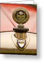1921 Mercer Series 5 Raceabout Motometer Greeting Card