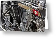 1923 Condor Motorcycle Greeting Card