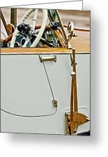 1925 Rolls-royce Phantom I Barker Sports Torpedo Tourer Steering Wheel Greeting Card
