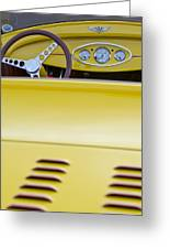 1929 Ford Model A Roadster Greeting Card