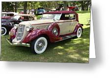 1930 Buick Greeting Card