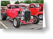 1930 Ford   7779 Greeting Card