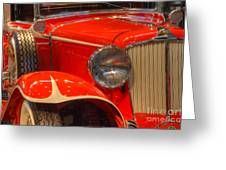 1931 Cord Automobile Greeting Card