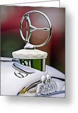 1932 Austro Daimler Hood Ornament Greeting Card