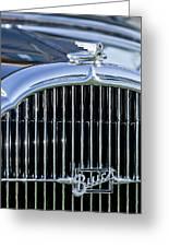 1932 Buick Series 60 Phaeton Grille Greeting Card