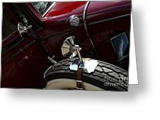 1932 Chevrolet Detail Greeting Card