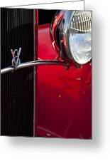 1932 Ford Roadster Grille Greeting Card