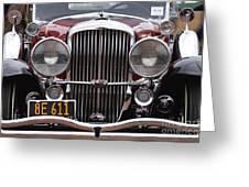 1933 Duesenberg Model J - D008167 Greeting Card