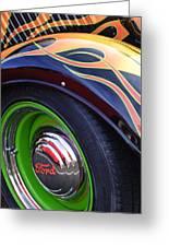 1933 Ford Wheel Greeting Card