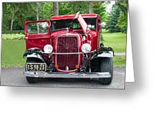 1934 Ford Greeting Card