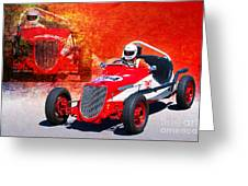 1934 Ford Indy Special Greeting Card