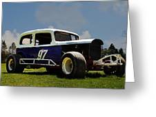 1934 Ford Stock Car Greeting Card