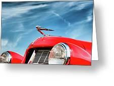 1935 Auburn Speedster  6892 Greeting Card