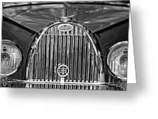 1935 Bugatti Type 57 Roadster Grille 2 Greeting Card