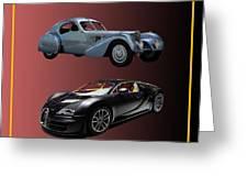 1936 Bugatti 2010 Bugatti Greeting Card