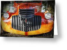 1936 Chevrolet Pickup Truck Greeting Card
