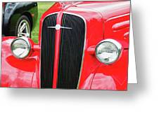 1936 Chevy  8552 Greeting Card