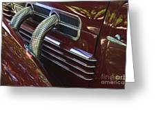 1936 Cord Greeting Card