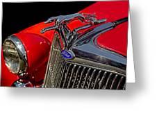 1936 Ford Model 48 Emblem Greeting Card