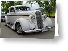1936 Plymouth Greeting Card
