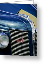 1937 Buick Hood Ornament Greeting Card
