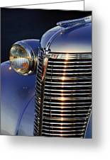 1938 Chevrolet Grille Greeting Card